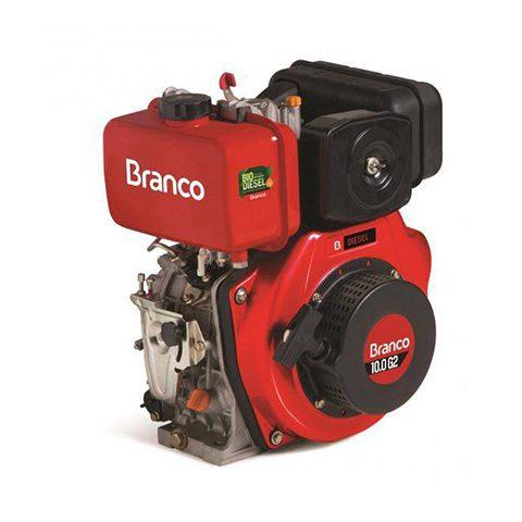 Motor diesel BD-10.0 G2 P.Manual 10,0cv e 3600 rpm Branco | LCW Geradores