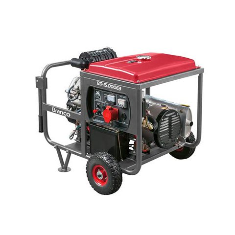 Gerador À Diesel Branco Bd-15000e3 G2 14kva 22cv Tri 380v | LCW Geradores