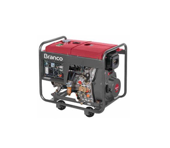 Motogerador Branco BD-8000 EF A Diesel 13Cv 6.5Kva Partida Elétrica | LCW Geradores