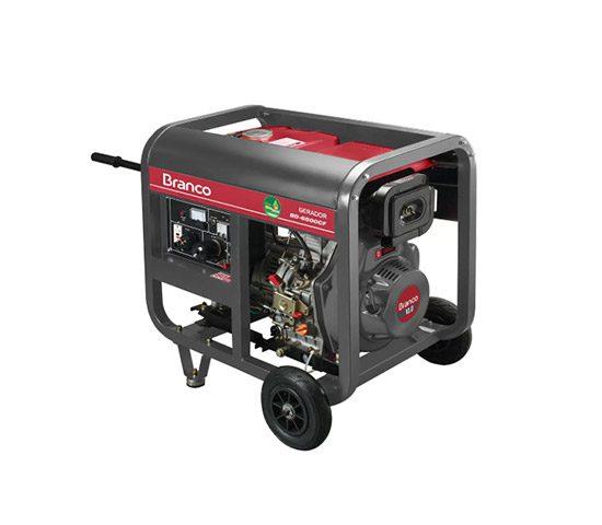 Gerador de Energia Branco BD-W190 E Diesel 2200W - 220 Volts   LCW Geradores