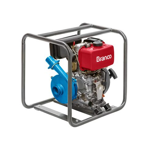 Motobomba à Diesel BD-716 7,0CV com Partida Elétrica | LCW Geradores
