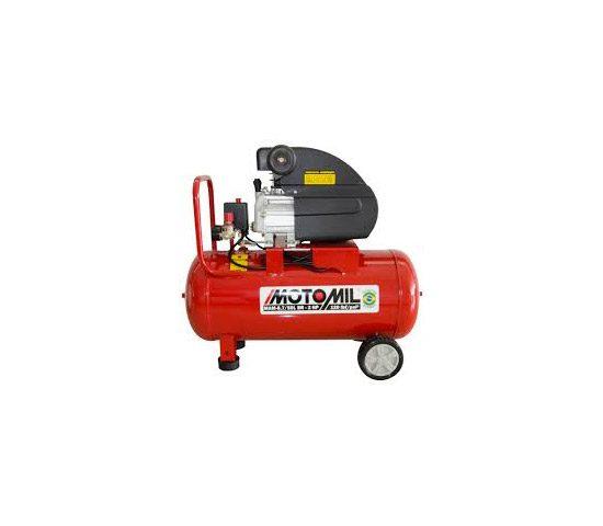Motocompressor de Ar 8,7 pés³/min 2,0HP 50 Litros 220V - MOTOMIL | LCW Geradores