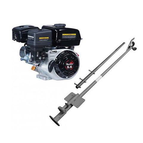 Motor Barco 7hp Bote 4t Toyama + Rabeta Completa 1.70 | LCW Geradores