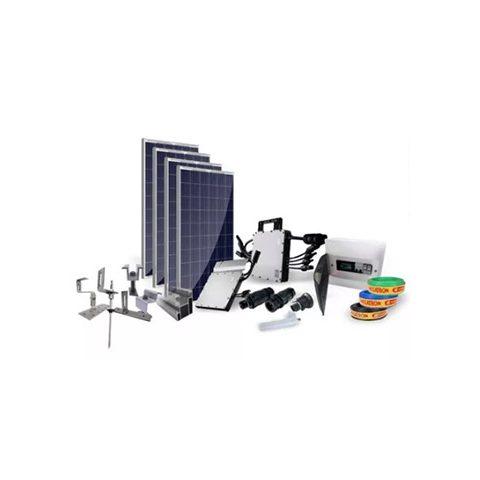 Kit Hoymiles 1200 Painel Solar 4x 350w Microinversor 220v | LCW Geradores